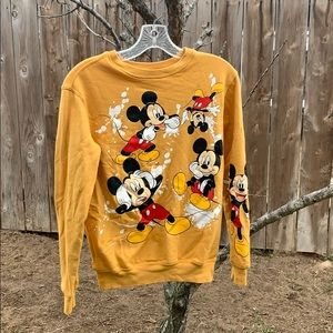 Disney old school Mickey Mouse Paint Splatter xs